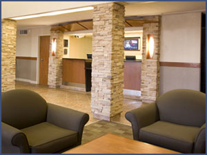 Woodlands Inn & Suites Lobby, Fort Nelson BC