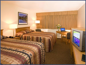 Two Queen Superior Double Room at Woodlands Inn & Suites Hotel