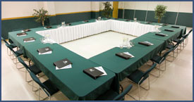 Conference Room at Fort Nelson Lodging Hotels
